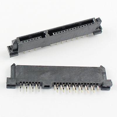 10Pcs Sata 7+15 Pin 22 Pin Female Hard Drive HDD Connector Adapter