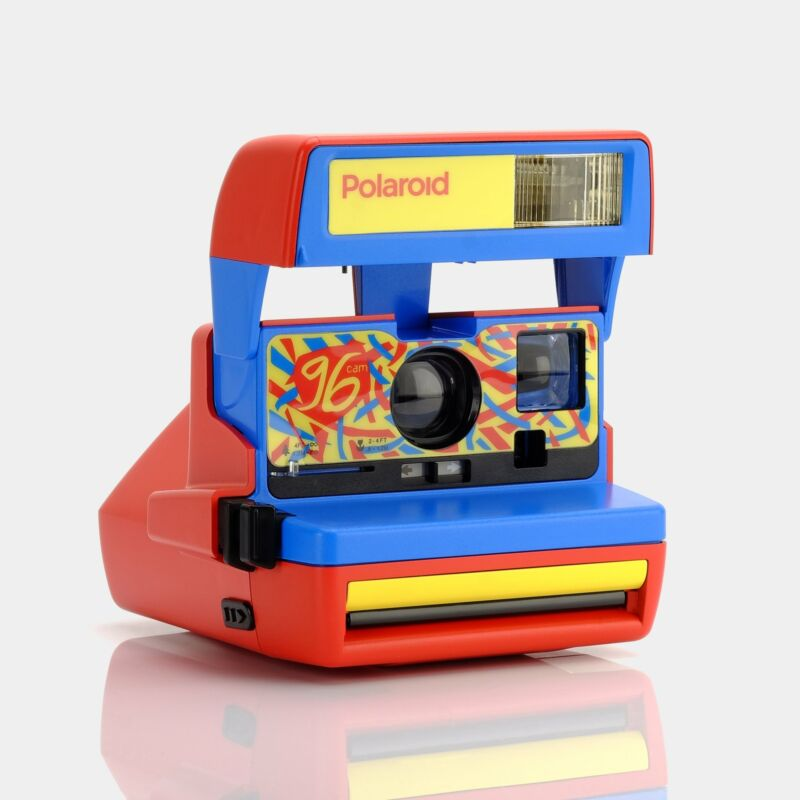 Polaroid 600 96 Edition Red Instant Film Camera