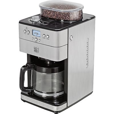 Kenmore Elite 12-Cup Stainless Brace Coffee Machine Grinder Maker Brewer 239401