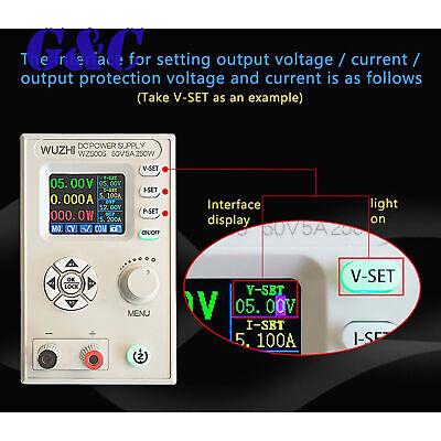 New Wz5005 Digital Control Power Supply Adjustable Lcd Display Step-down Module