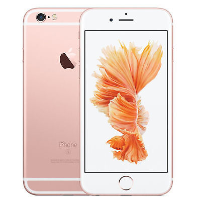 Apple iPhone 6s - 16GB - Rose Gold (AT&T locked) A1633