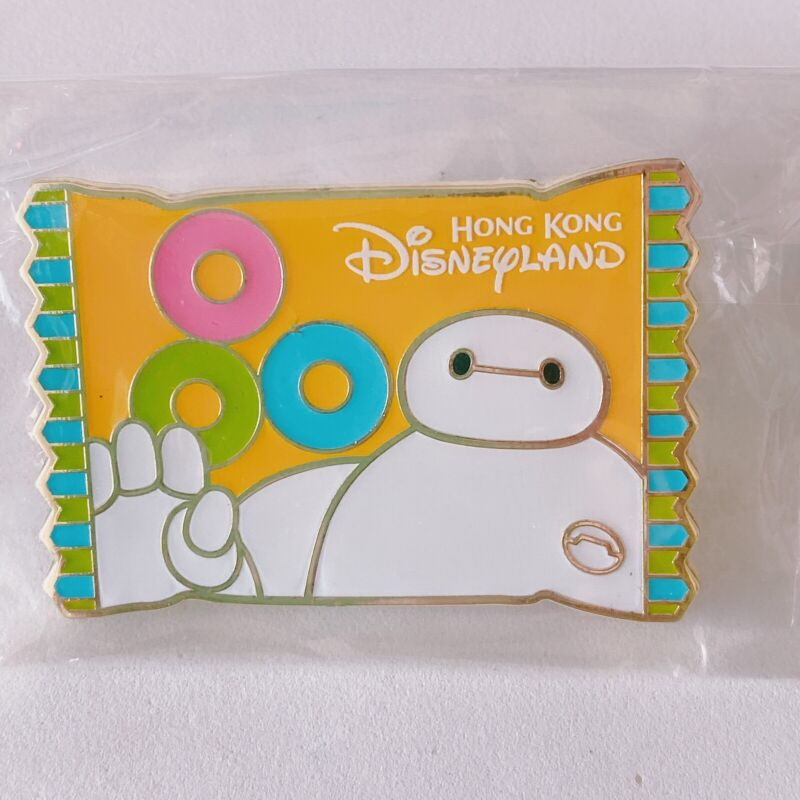 HKDL Pin Hong Kong Disney Disneyland Baymax Big Hero 6 Snack Vending LE 600 Pin