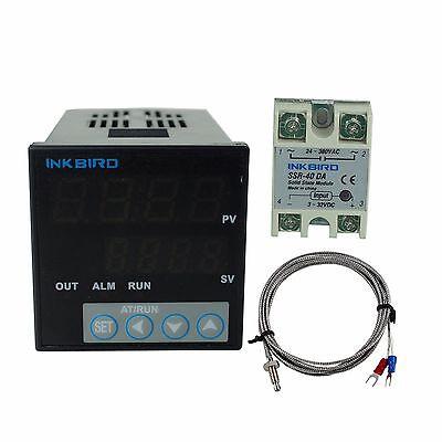 Itc-106vh Digital Pid Temperature Controller K Sensor 40 Ssr Fahrenheit Fan