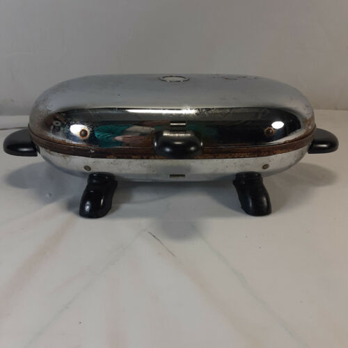 Vintage Manning Bowman Iron Waffle Maker Model 451 Made in U.S.A.