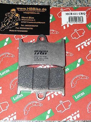 Lucas Bremsbeläge MCB 611 CRQ Yamaha YZF-R1 YZF R1 1000  Carbon Race RN 01 04 09