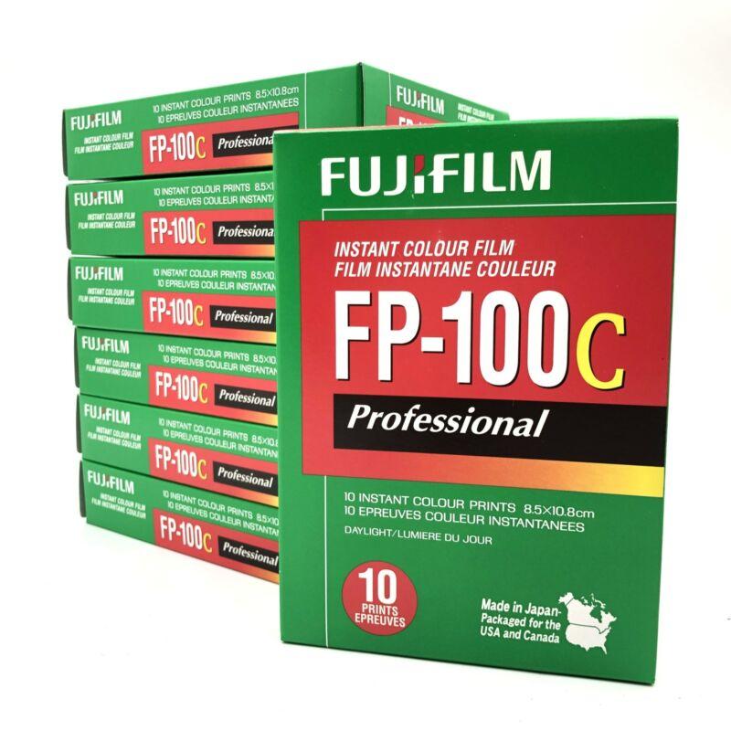 FUJIFILM FP-100C INSTANT COLOUR FILM EXP 2009 - NEW SEALED