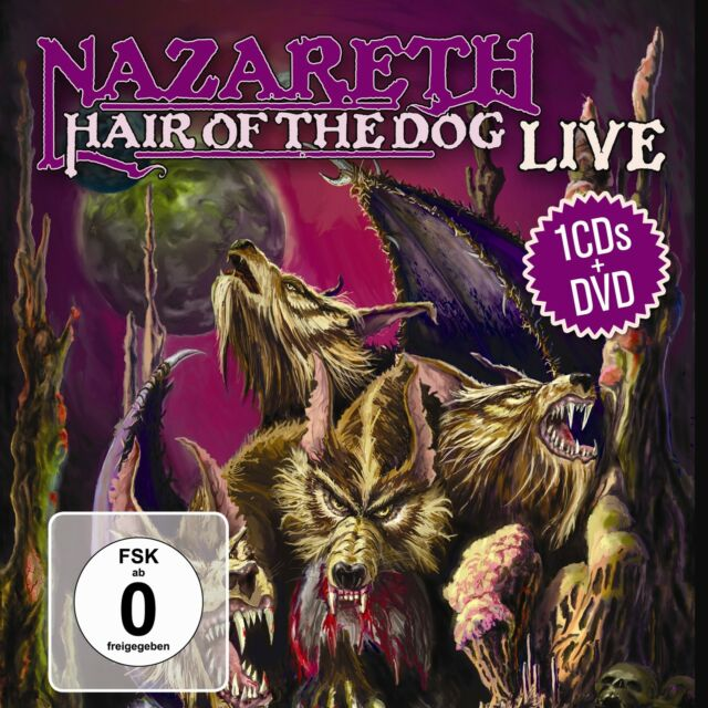 CD DVD Nazareth Hair Of The Dog Live DVD und Bonus CD