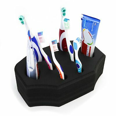 Toothbrush Organizer Stand for Manual/Electric Bathroom Sink 6.5