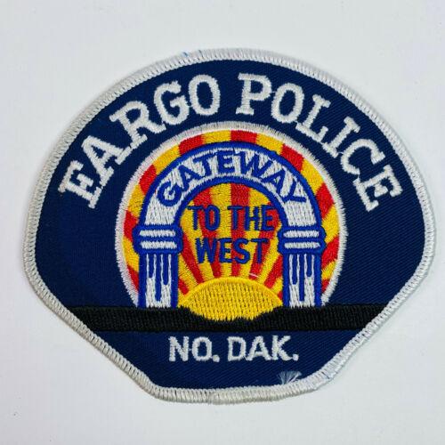 Fargo Police North Dakota Patch
