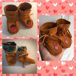 Baby moccasins for sale!