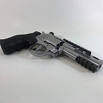 Bear River Exterminator 4 Inch Revolver Full Metal Chrome Airsoft .177 6mm
