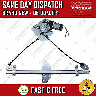 ALL CHEVROLET MATIZ FRONT LEFT NEAR SIDE WINDOW REGULATOR 4 DOORS 05ON 96601565