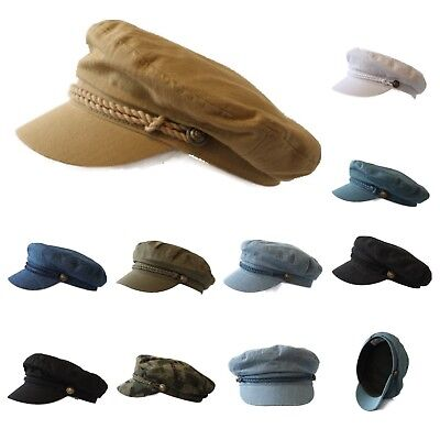 Men Sailor Captain Fisherman Cap Fashion Yacht Boat Costume Fiddler Unisex Hat