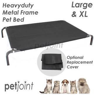 smlxl dog bed trampoline heavyduty hammock pet cat puppy home 3