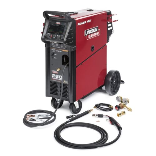 Lincoln Power Mig 260 Welder (208-575V) (K3520-1)