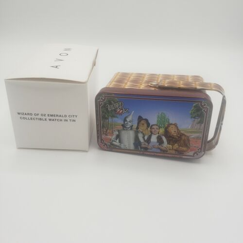 New Avon Wizard of Oz Emerald City Collectible Watch in Tin