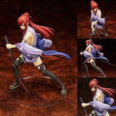 Anime FAIRY TAIL Erza Scarlet 1/7 Statue Battle Ver. Action Figuren Spielzeug DE
