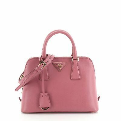 Prada Promenade Bag Saffiano Leather Small