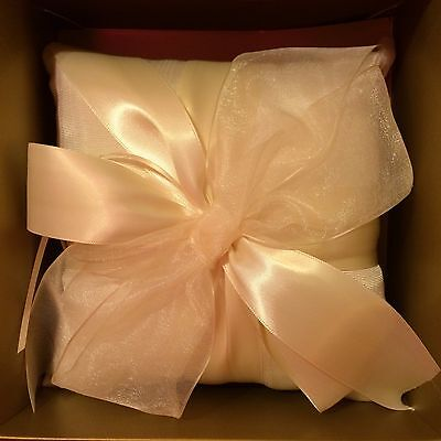 - Beverly Clark Collection Ivory Ring Bearer Pillow 38BI Tres Beau Collection