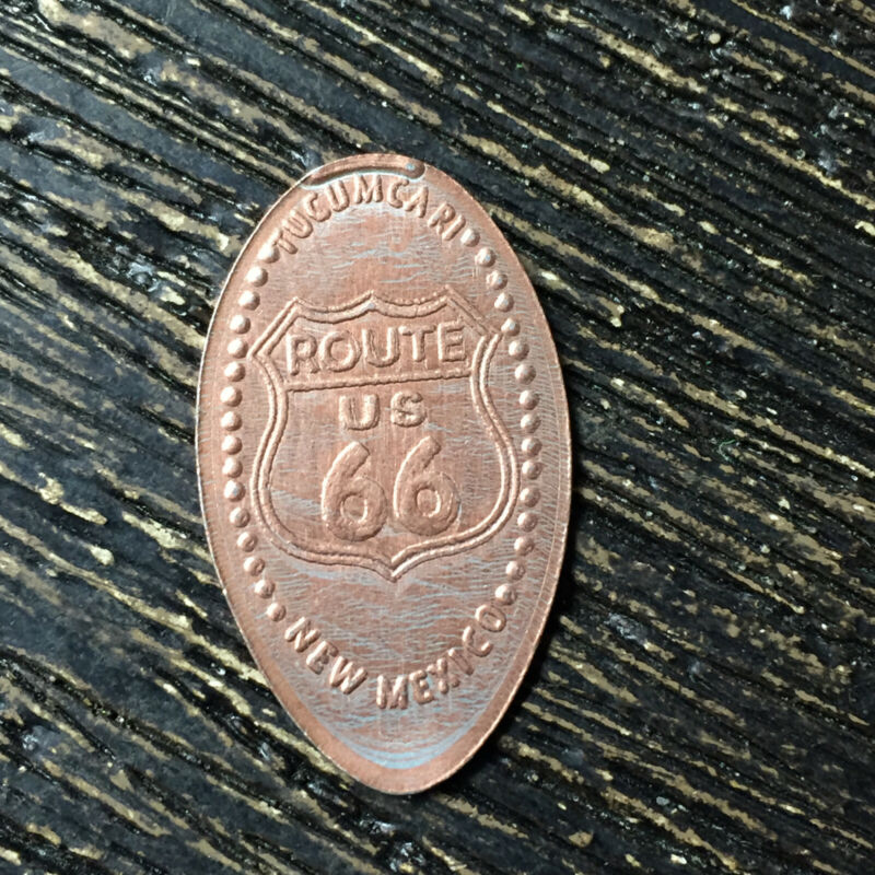 Route 66 new mexico Pressed smashed elongated penny P8211