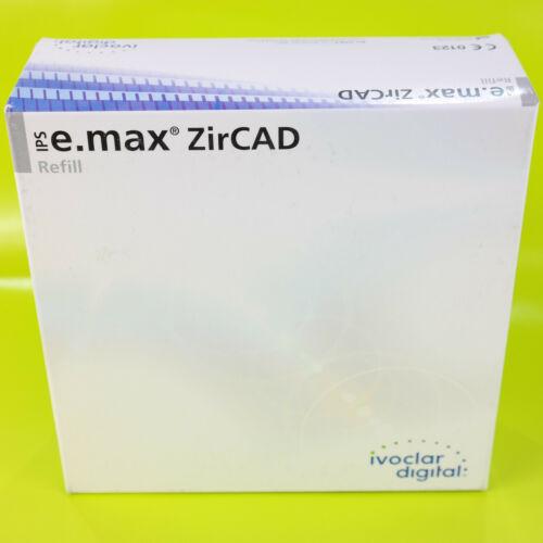 Ivoclar digital Refill E.Max IPS Zircad 686833 LT1 3 7/8-0 5/8in Round Sealed