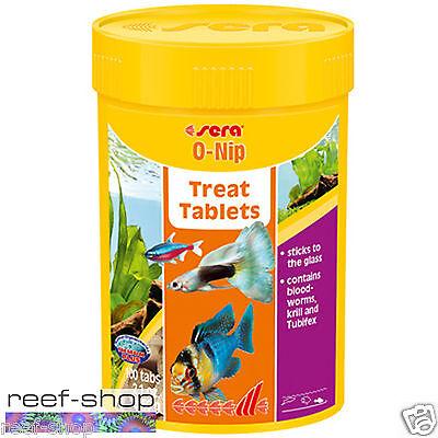 Fish Food Sera O Nip 60 grams 100 Tablets FREE USA SHIPPING