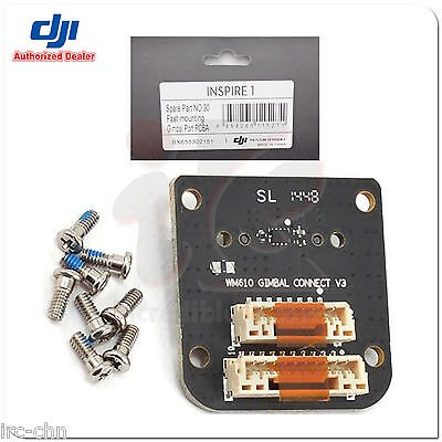 DJI Inspire 1 Part 30 Fast-mounting Gimbal Port PCBA For DJI RC Drone Quadcopter