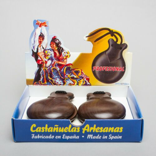 Spanish Castanets - Castañuelas - Professional level - Hand made in Valencia
