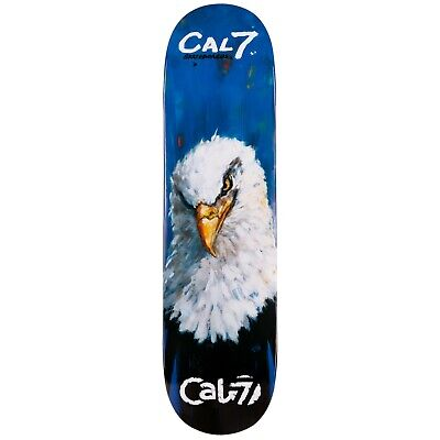 Cal 7 Skateboard Valor Deck Canadian Maple 7 Ply 8 8.25 8.5 Inch Popsicle Trick