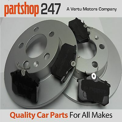 Genuine Comline VW VOLKSWAGEN GOLF MK4 REAR BRAKE DISCS AND PADS 1997-2004