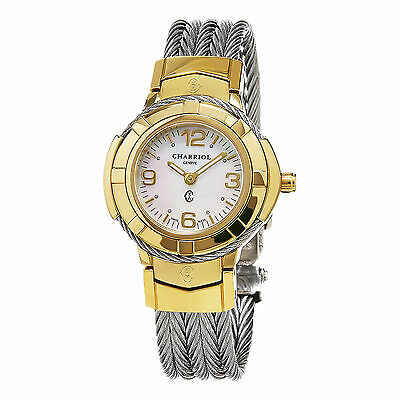 Celtic Womens Watch - Charriol Women's Celtic MOP Dial Two Tone Stainless Steel Watch CE426Y1640002