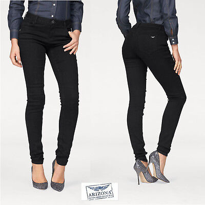Arizona Skinny-fit-Jeans »Ultra-Stretch« Mid Waist, black. NEU!!!KP 49,99 € SALE ()