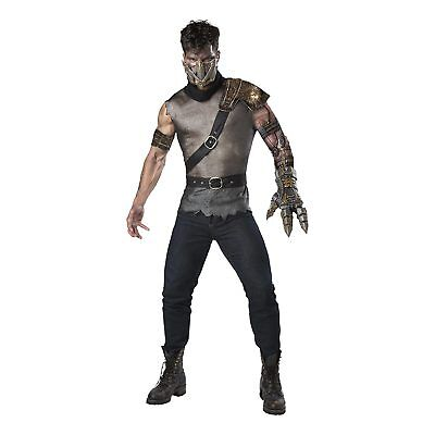 Mad Max Apocalypse Wasteland Warrior Thunderdome Steampunk Halloween Costume Men