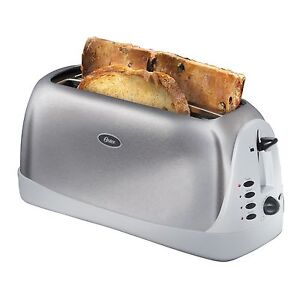 Oster 006330-000-000 4-Slice Long-Slot Toaster