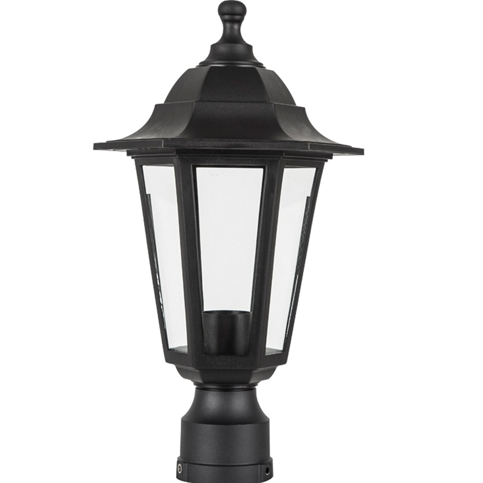 Outdoor Lamp Fixture Post Outside Antique Pole Mount ...