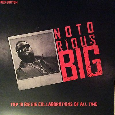 """NOTORIOUS BIG """" TOP TEN BIGGIE TRACKS """" NEW 12"""" / LP *** COLOURED VINYL ***"""