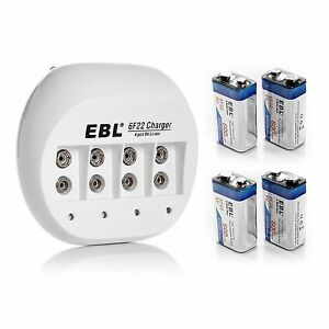EBL-4x-600mAh-9V-Li-ion-Rechargeable-Batteries-9-VOLT-Battery-Charger