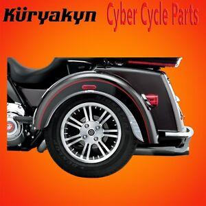 Kuryakyn Chrome Rear Fender Flares For Tri Glide And Street Glide Trikes 7214