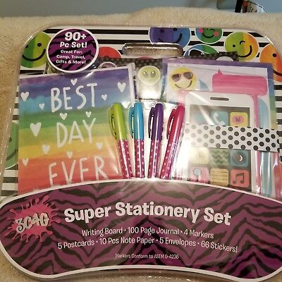 Best Day Ever Stationary 90 Piece Set with