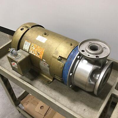 Goulds 4shk6 Centrifugal Pump With Baldor 37m031y21667 Motor Impeller 6.12