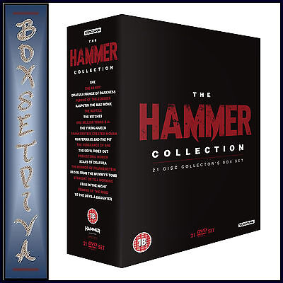 THE ULTIMATE HAMMER COLLECTION - 21 CLASSIC FILMS **BRAND NEW DVD BOXSET * ** - Ultimate Hammer