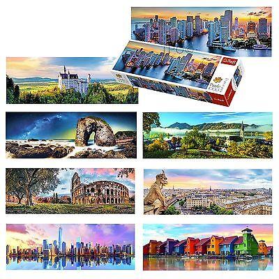 Trefl 1000 Piece Panorama View Adult Famous Manhattan Paris Germany Miami Puzzle - Adult Puzzles