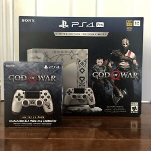 PS4 Pro God of War Bundle (NEW SEALED)