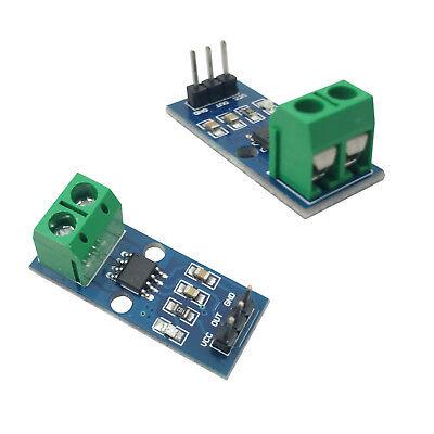 2pcs Current Sensor Module Acs712 30a Module Arduino Shield Current Detector Usa