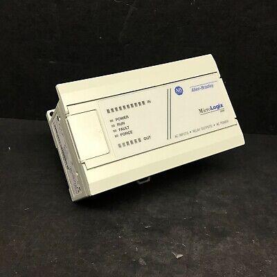 2014 Allen Bradley 1761-l16awa Ser E Fw 1.0 Micrologix 1000 Controller Cpu Plc