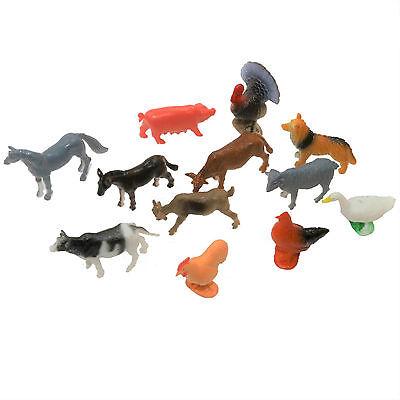 Mini Farm Animals (1 Dozen) - Farm Animal Figurines