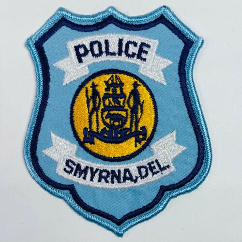 Smyrna Police Delaware DE Patch