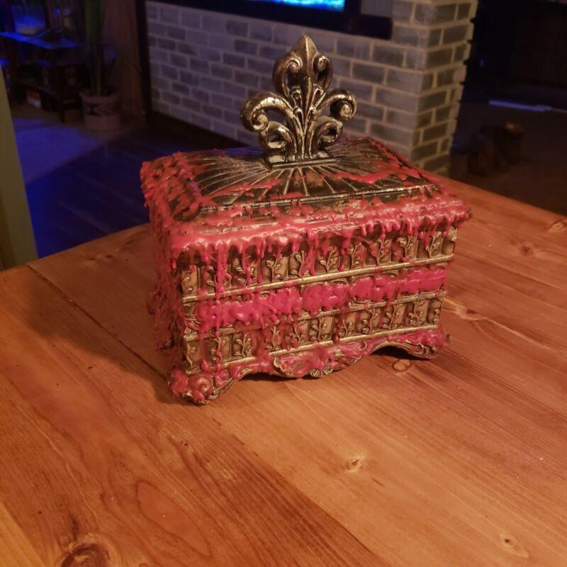 Romanian gothic haunted Dybbuk Box