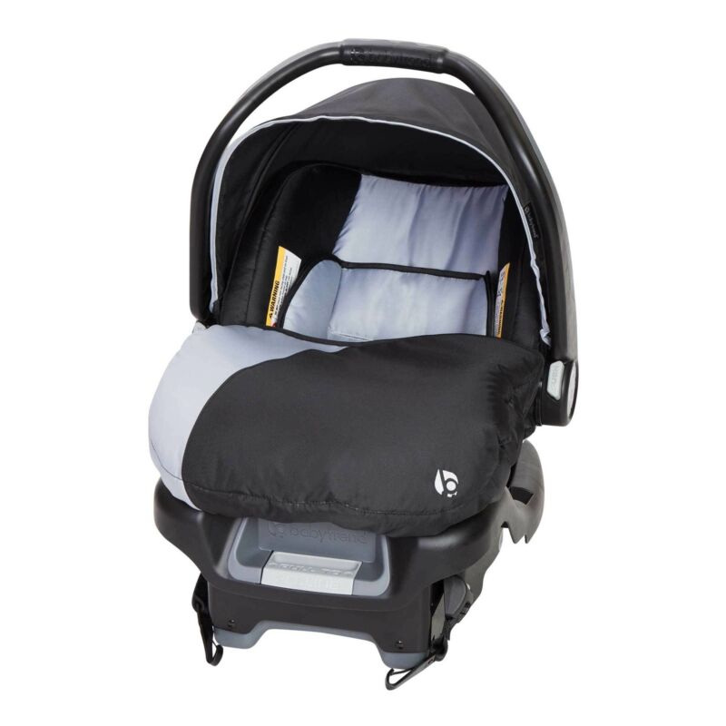 Baby Trend Ally Adjustable 35 Pound Infant Baby Car Seat and Car Base, Stormy
