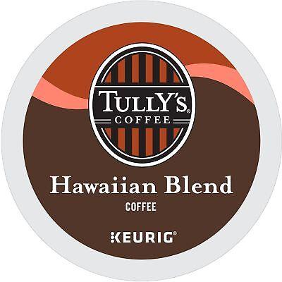Tully's Coffee Hawaiian Blend Keurig Single-Serve K-Cup Pods